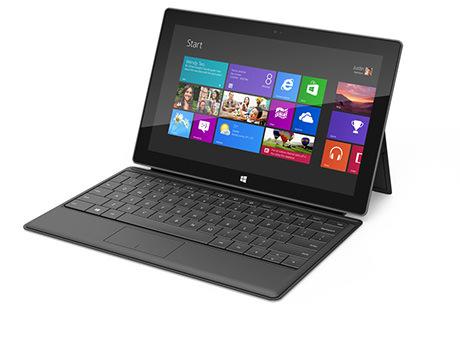 Microsoft Surface black