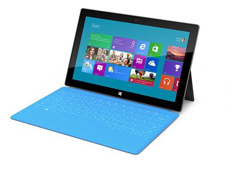 Microsoft Surface blue