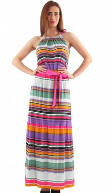 Rochie Long Summer Stripe