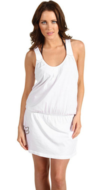 Rochie alba Fox Cover Up