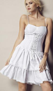 Rochie scurta corset