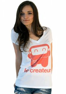 Tricou Le Createur Music Robot