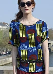 Bluza dama cu imprimeu