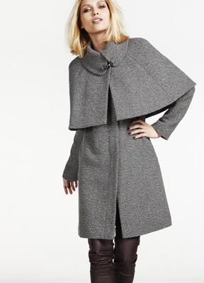 Mantou capa din tweed