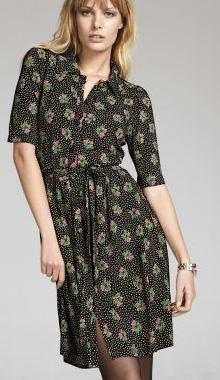 Rochie tunica cu print floral