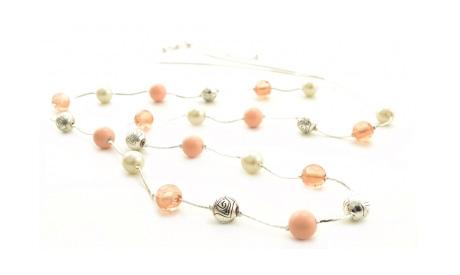 Colier romantic cu perle