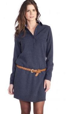 Rochie camasa cu curea