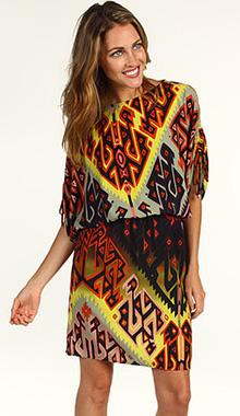 Rochie cu imprimeu etnic