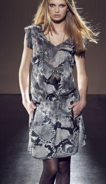 Rochie cu imprimeu toamna 2012