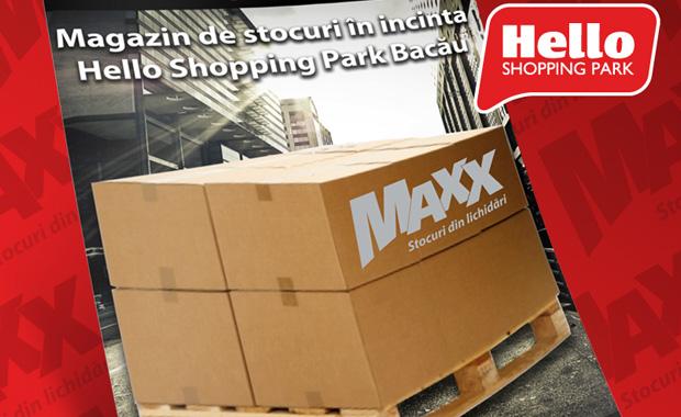 Concurs Maxx Discount la Hello Shopping Park