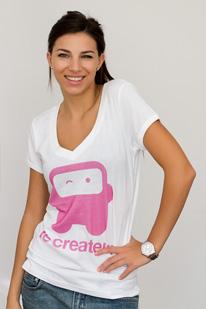 Tricou Le Createur Flirty Robot
