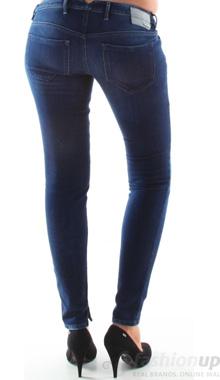 Jeans skinny Diesel albastri