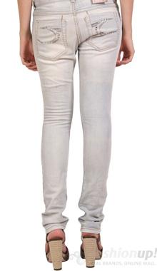 Jeans skinny gri deschis Colins