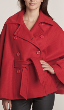 Palton capa cu curea