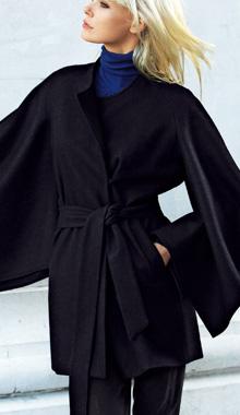 Palton cu capa