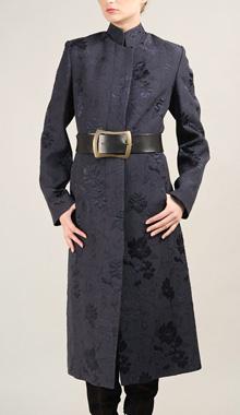 Palton din brocart