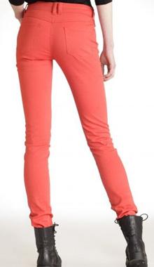 Pantaloni slim tangerine La Redoute