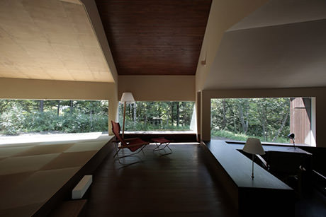 Rooms that follow the landscape - Interior