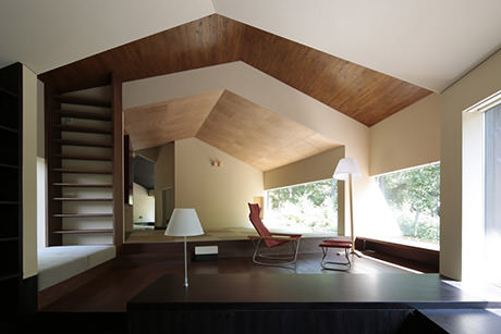 Rooms that follow the landscape - Interior 2