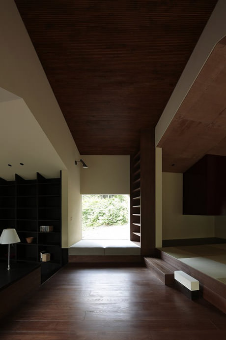 Rooms that follow the landscape - Interior 3