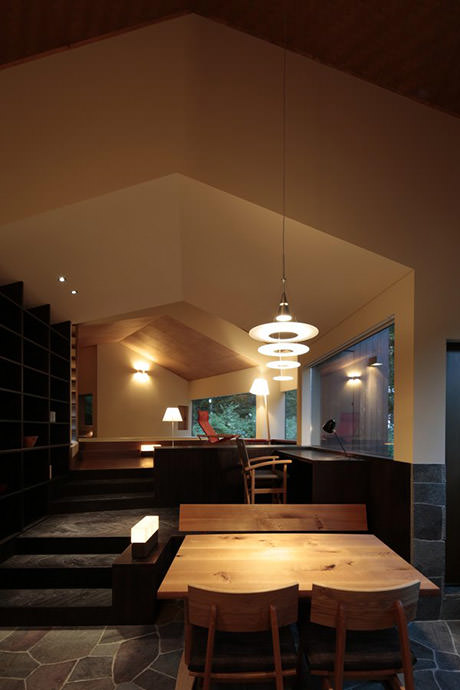 Rooms that follow the landscape - Interior 4