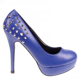 Pantofi Skyler albastri