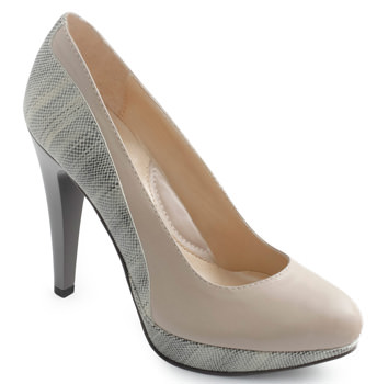 Pantofi Clarette bej