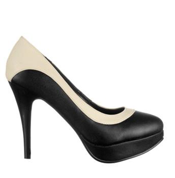 Pantofi Black Cream