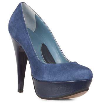 Pantofi Clarette albastri