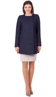 Palton scurt Salla bleumarin