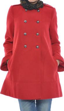 Palton scurt rosu