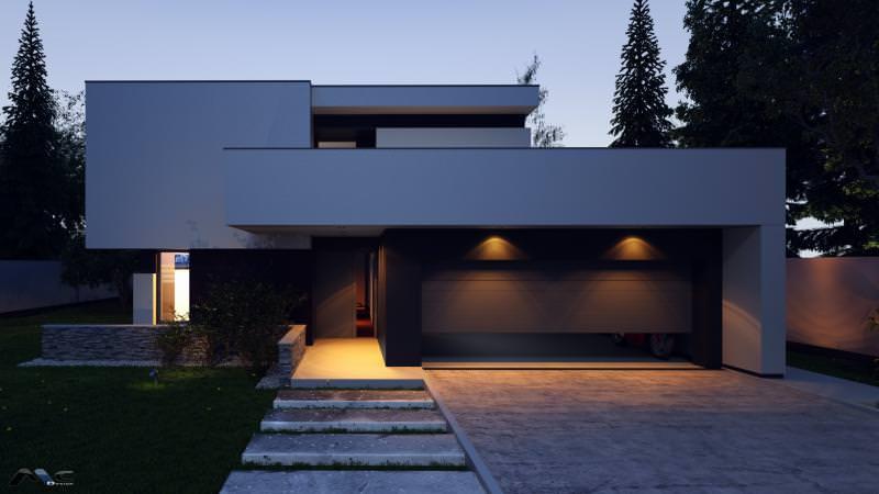 4 proiecte interesante de case mici mujo for Imagini case moderne