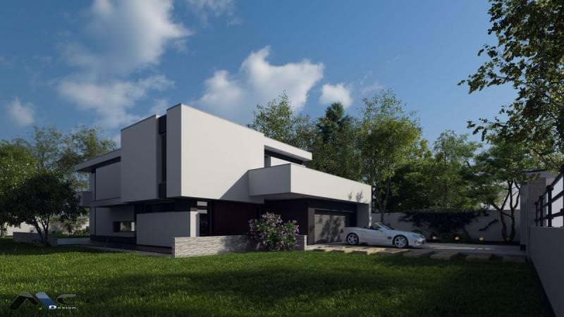 Proiect case cu etaj Casa Andy