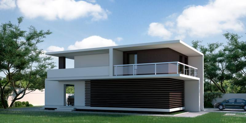 Proiecte case cu etaj Casa Ana 3