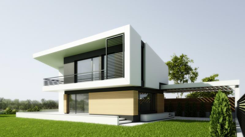 Proiecte case cu etaj Casa Popa