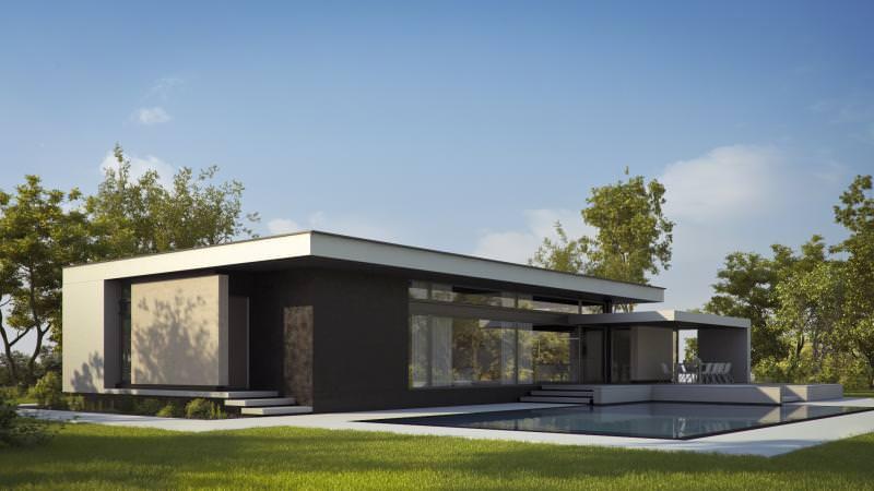 Proiecte case parter Casa Farm House