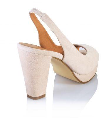 Sandale de dama cu varf decupat