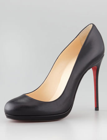 Filo Leather Red Sole Pump Louboutin