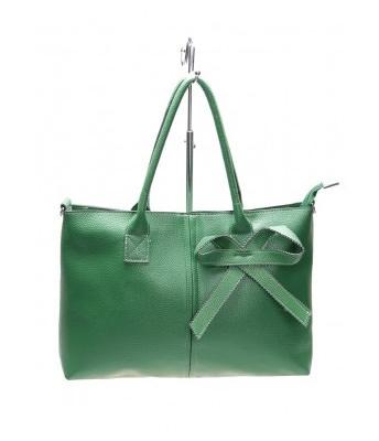 Geanta green ribbon lady
