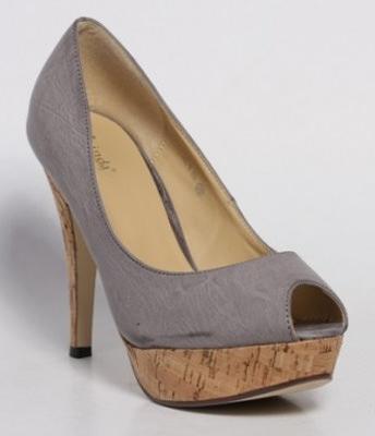Pantofi gri Gina