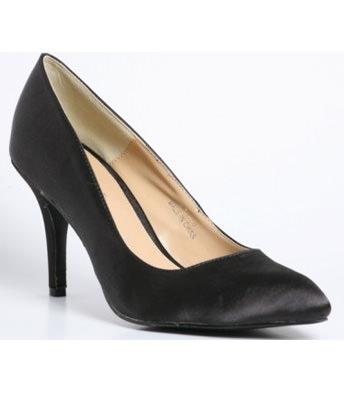 Pantofi negri chic
