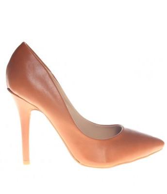 Pantofi stiletto camel Noemy