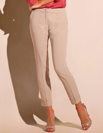 Pantaloni 7/8 cu manseta