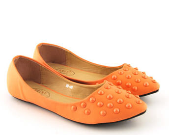 Balerini Tehno portocalii