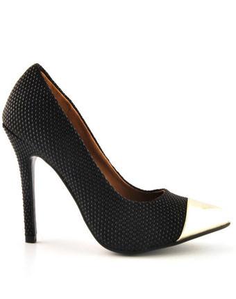 Pantofi Dona negri