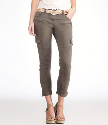 Pantaloni battle 7/8 slim
