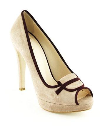 Pantofi decupati Epica dark sand