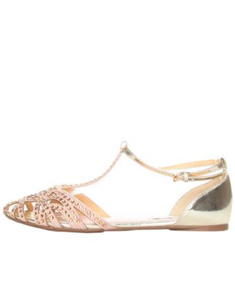 Sandale cu bijuterie
