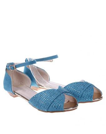 Sandale albastre Monique