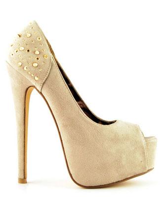 Pantofi July bej